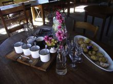 Coffee and muffins at The Gourmet Shed in Clarens in the Free State. South Africa. © The Gourmet Shed