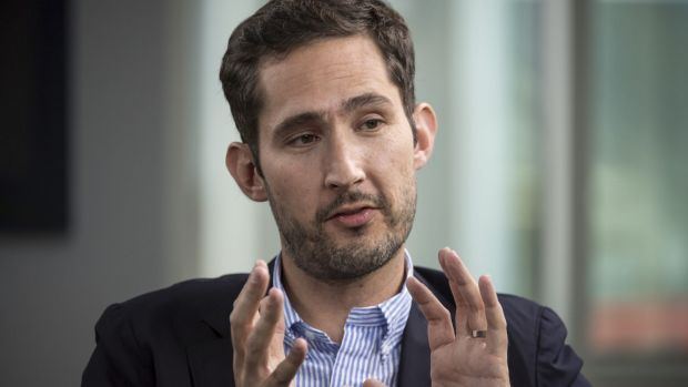 Instagram's Kevin Systrom, the man who became a billionaire – from selfies. Kevin Systrom is neatly turned out, polite, a little dorky-looking even.