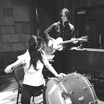 "The White Stripes - ""Everyone knows about it from the queen of england to the hounds of hell"""