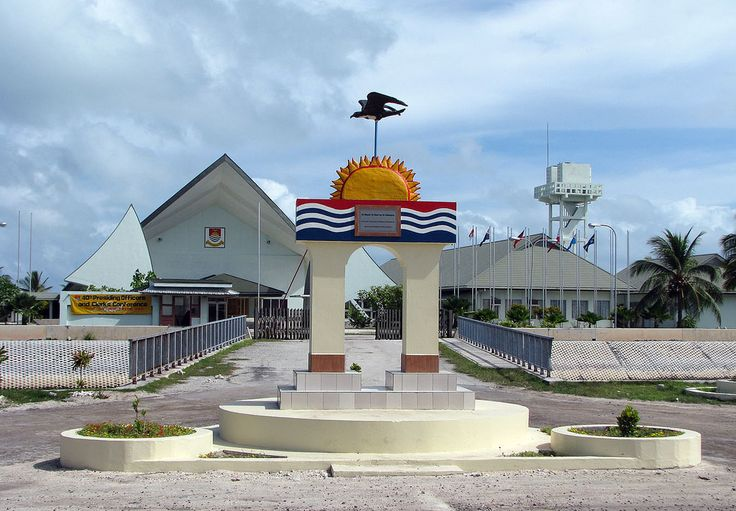 https://flic.kr/p/7SsXeK | Kiribati 09617 | Parliament House, South Tarawa, Kiribati