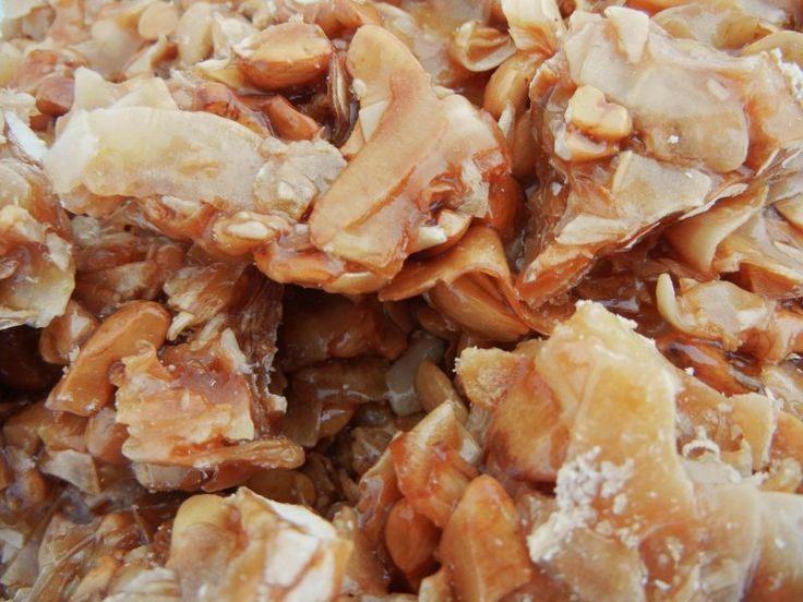 Coconut Cashew Brittle ~ This rich buttery brittle has always been part of our Christmas candy collection. Lots of coconut and cashews ensures it's extra scrumptious.