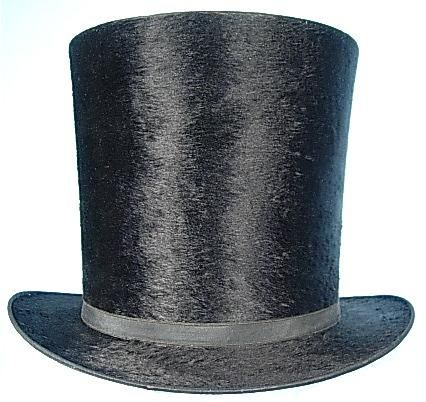 1840s 1860s Top Hat Men S Clothing 1850 1860 Pinterest