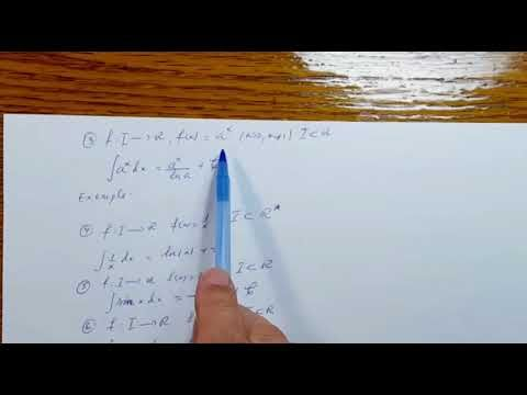 Integrale nedefinite   Analiza Matematica   Clasa a XII a   120401 02