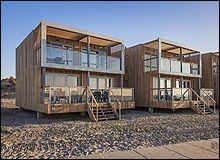 Slapen in een strandvilla in Hoek van Holland