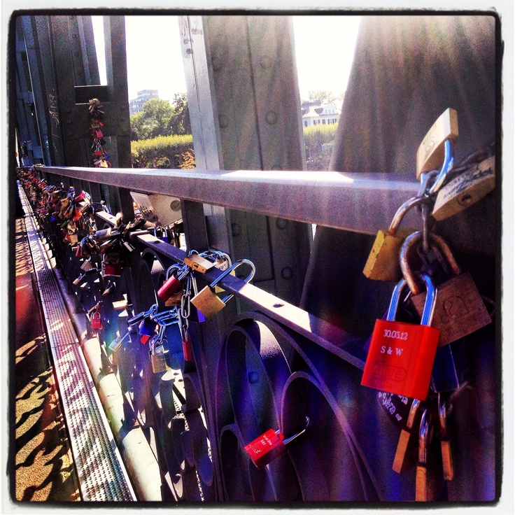Eiserner Steg #lock_your_love