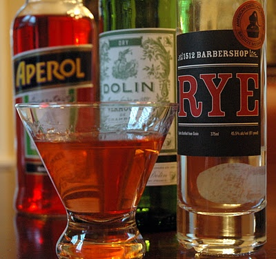 The Boulevardier. Gotta try this one.