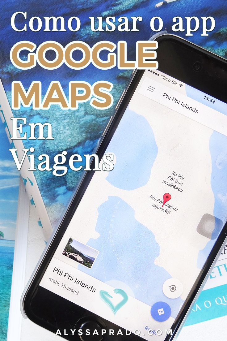 Aprenda a usar o Google Maps para viagens! Com esse app você consegue montar roteiros, descobrir como funciona o transporte público e até fugir do trânsito! Clique no link para ler tudo >> http://alyssaprado.com/usar-app-google-maps-em-viagens/