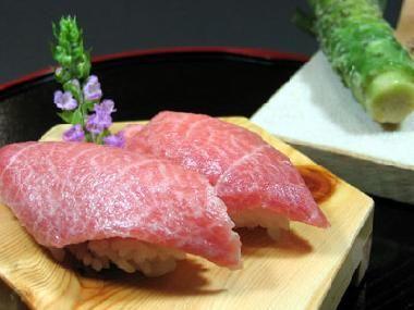 O-Toro (fatty tuna) - melts in your mouth