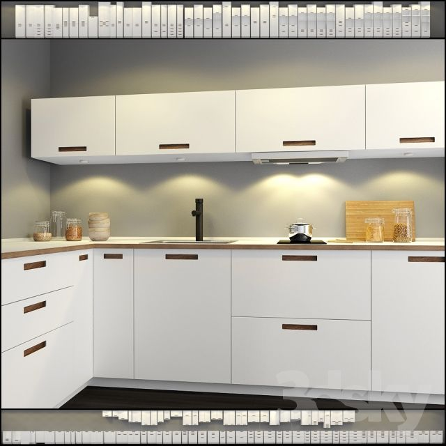 Ikea White Gloss Kitchen Wall Units