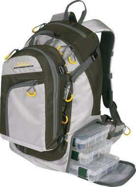 Tackle backpack it 39 s a fishing thing you wouldn 39 t for Fishing backpack with rod holder
