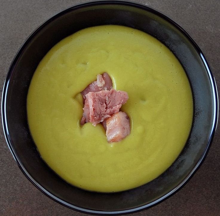Ad Hoc's split pea soup, aka, my Soup of the Week (although I'm going to veggify it)