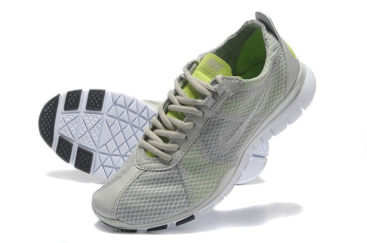 Fake Nike Free TR Twist SL Grey Fluorescent Green Metallic Silver 429785 402 $44.99