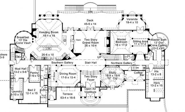 1000 images about floor plans on pinterest first story for Mansion house plans with elevators