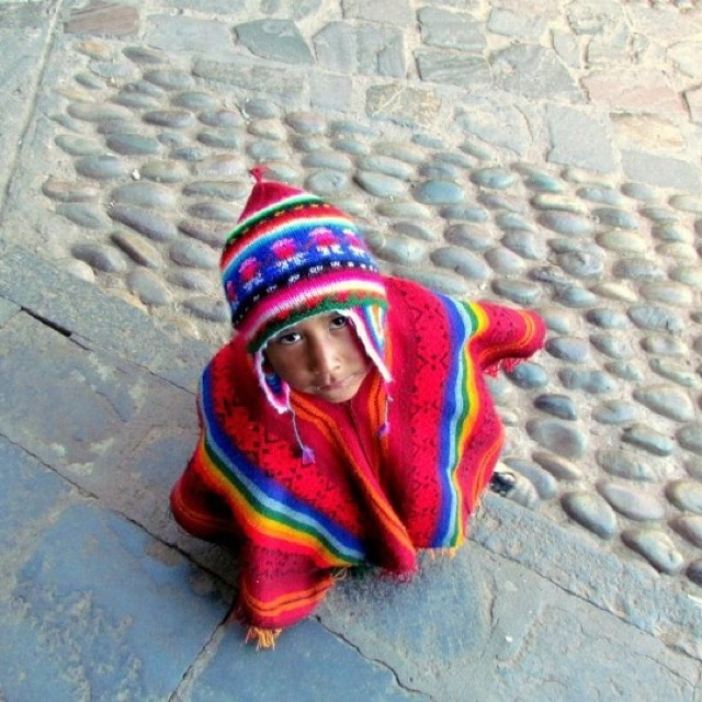 Niño de cusco Fernanda Oyarzún