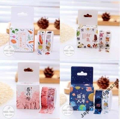 Taśma Washi Tape 2 Taśmy 1 Cena Kosmos Sakura