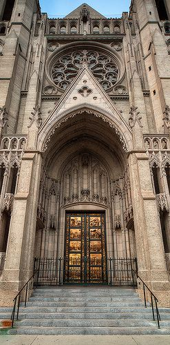 GoAltaCA | Grace Cathedral, San Francisco - Architect, Lewis P. Hobart in the style of French Gothic