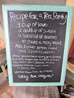 Tea Party Poem | Bridal Shower | Afternoon tea parties ...