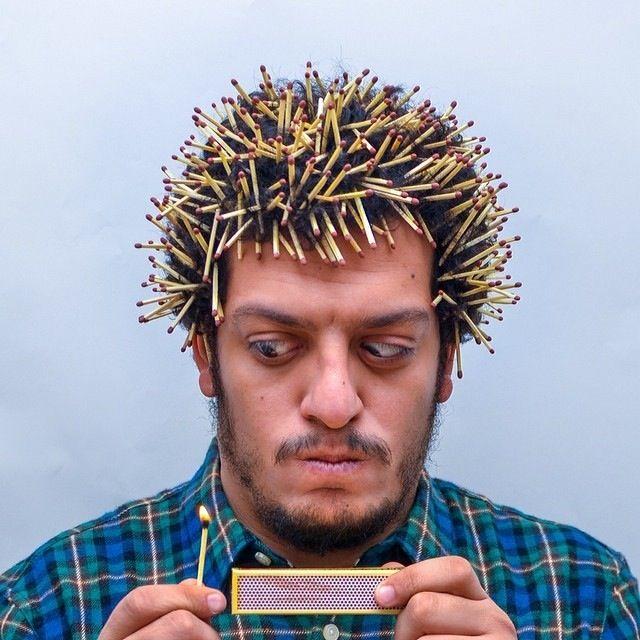 des objets dans les cheveux des objets dans les cheveux Ahmad El Abi 6   des objets dans les cheveux par Ahmad El Abi   photographe photo ob...