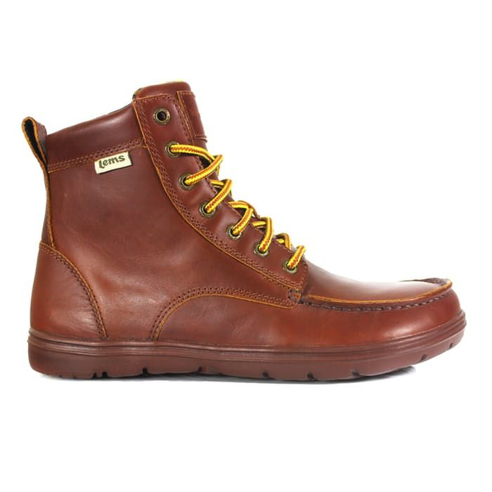 Lems Shoes LEATHER BOULDER BOOT in Russet