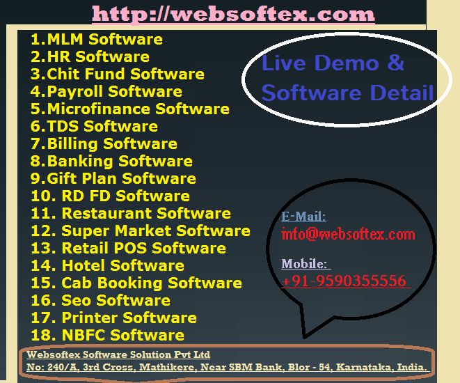 Banking Software, Chit Fund & MLM Software