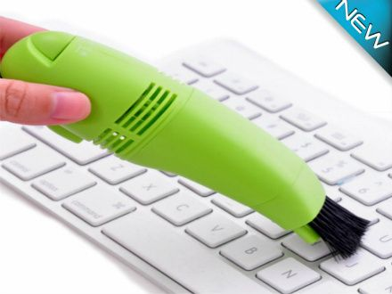 $9 for a Mini USB Computer/Keyboard Vacuum - Taxes & Shipping Included ($19 Value)