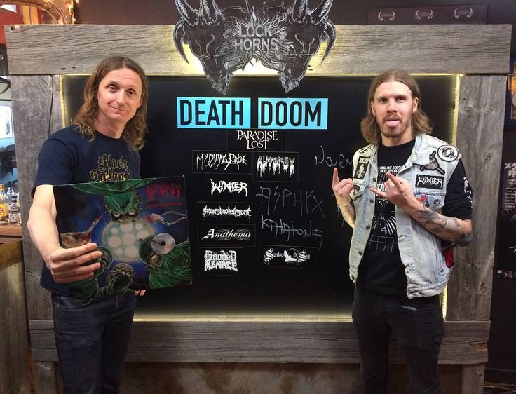 "46 kedvelés, 8 hozzászólás – Blayne Smith (@metalcomedy) Instagram-hozzászólása: ""Raddest of days at @bangerfilms today with the great #samdunn talking death/doom…"""