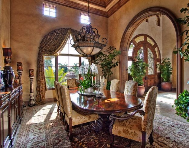 57 best Home-Tuscan Dining Room images on Pinterest | Tuscan dining ...