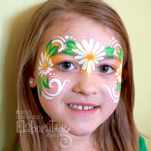 Posts About Face Painting Designs On Amanda S Elaborate Eyes Body