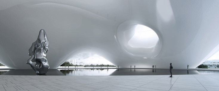 MAD architects: national art museum of china, beijing