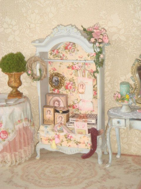 Hey, I found this really awesome Etsy listing at https://www.etsy.com/listing/474804499/ooak-shabby-vintage-ladies-closet-112