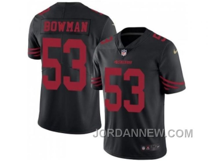 http://www.jordannew.com/nike-san-francisco-49ers-53-navorro-bowman-black-mens-stitched-nfl-limited-rush-jersey-authentic.html NIKE SAN FRANCISCO 49ERS #53 NAVORRO BOWMAN BLACK MEN'S STITCHED NFL LIMITED RUSH JERSEY FREE SHIPPING Only $23.00 , Free Shipping!