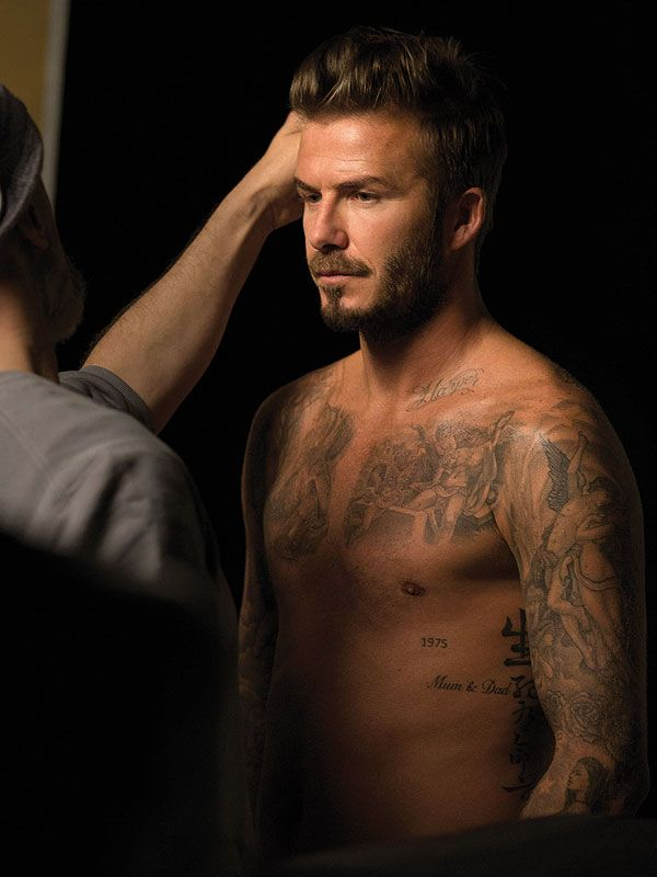 "His latest scent, David Beckham Beyond, embodies his confidence and go-getter attitude with the tag line, ""It all starts with a dream."" And with notes of grapefruit, black pepper and leather, it's just as sexy as you'd imagine his namesake would be."