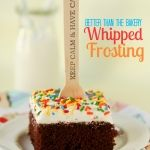 Better Than the Bakery Whipped Frosting