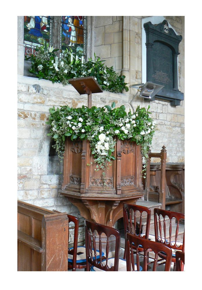 668 Best Images About Flowers For Church On Pinterest