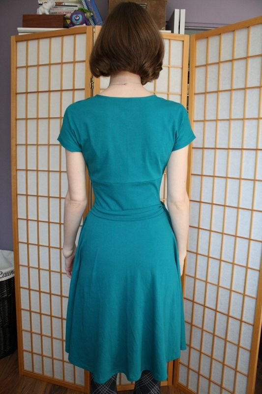 no seam skirt back or front teal tiramisu dress