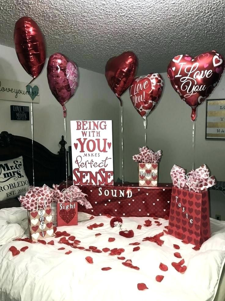 Girlfriend Gift Ideas Romantic Combined With Valentines Day For Surp F D