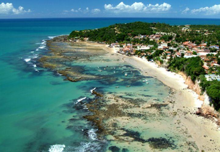 Praia da Pipa em Tibau do Sul, RN