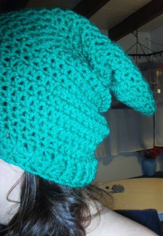 Baby Zelda Knitting Pattern : Crochet a slouchy beanie just like Link from Zelda with ...