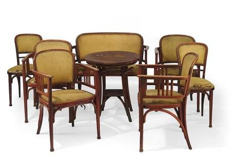 Thonet Salongarnitur: