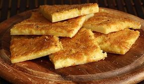 La galette de pois chiche (farinata di ceci) est une spécialité de la Ligure – et plus particulièrement de la ville de Gènes où elle a été inventée il y a