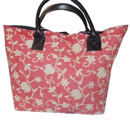 Choose beautiful kantha handbag with handicrunch at reasonable price. Apply  a  coupon code<PRSE10> and get 10% discount .