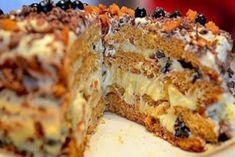 Торт «Трухлявый пень». Быстрый и вкусный тортик!