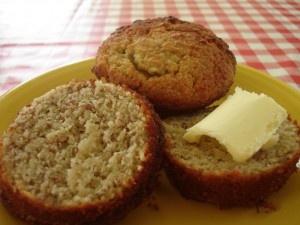 Almond flour banana bread/muffins glutenfree sugarfree