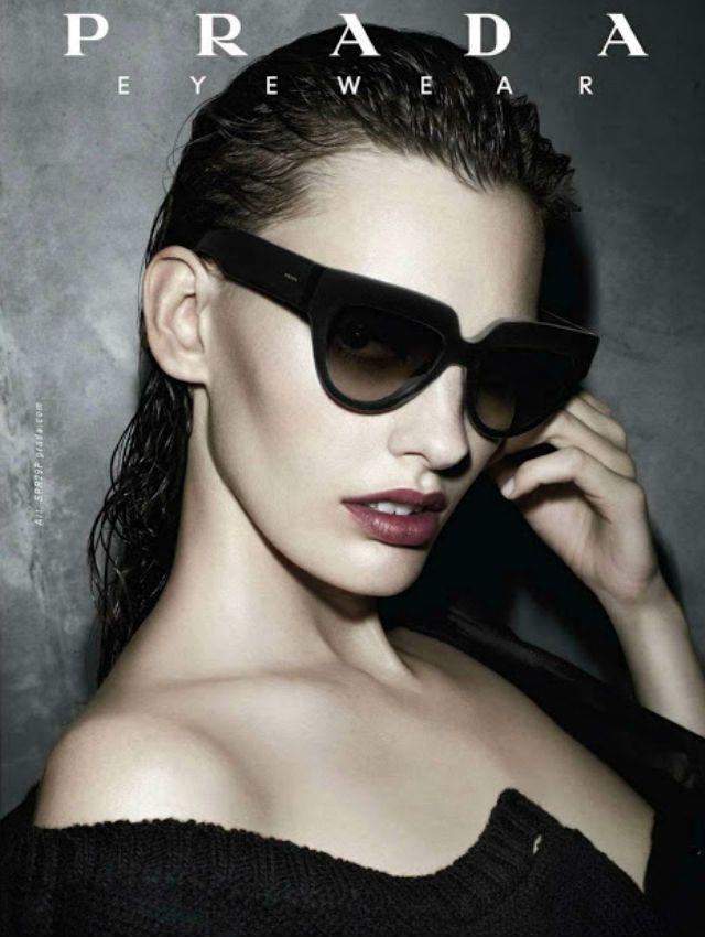 Campanie ochelari de soare Prada 2013