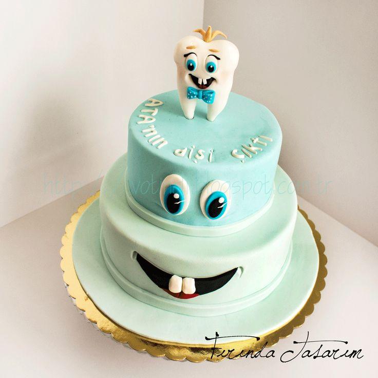 Tooth cake  http://votindi.blogspot.com.tr/2015/02/atann-dis-pastas.html