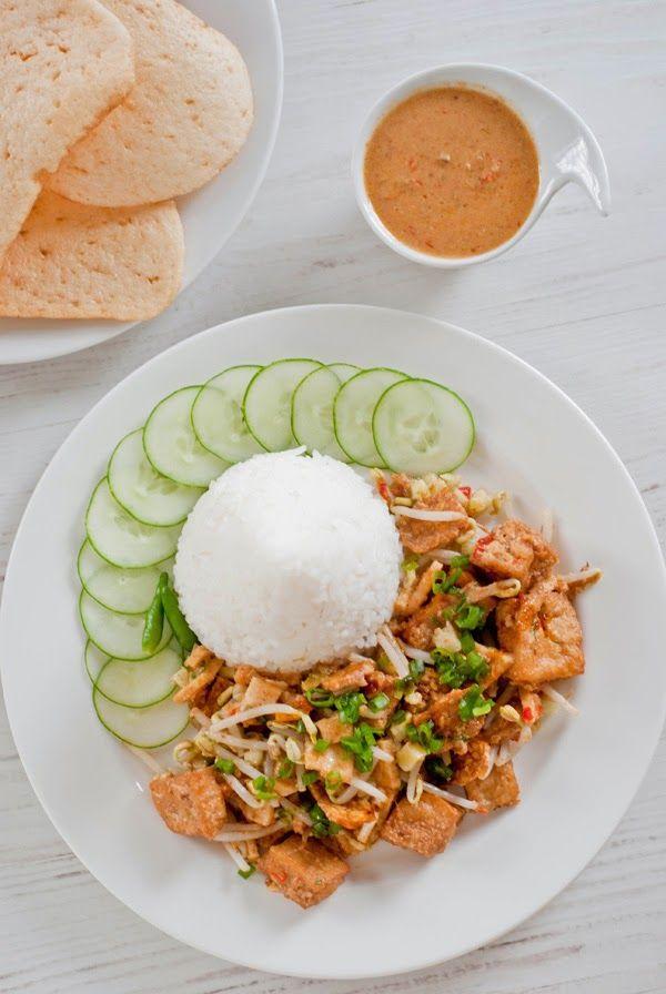 Javanese lengko rice recipe
