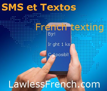 how to say sms in french