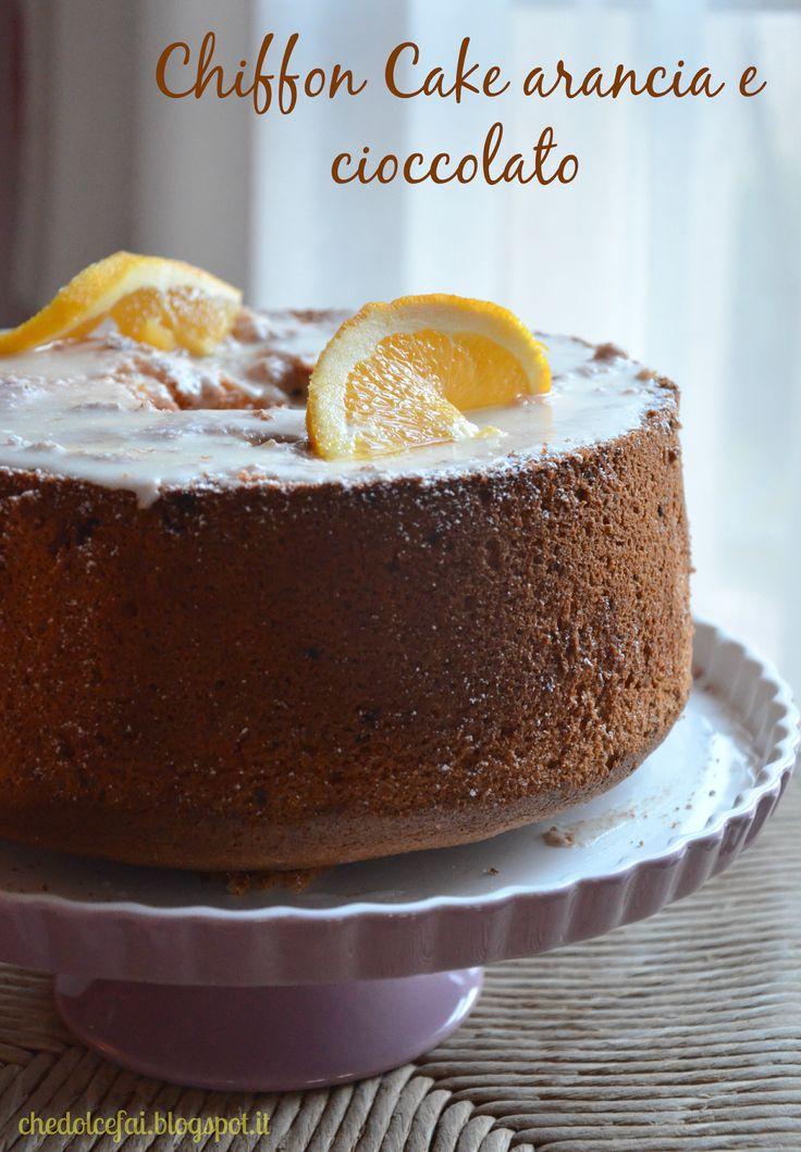 Che dolce fai?: CHIFFON CAKE ARANCIA E CIOCCOLATO