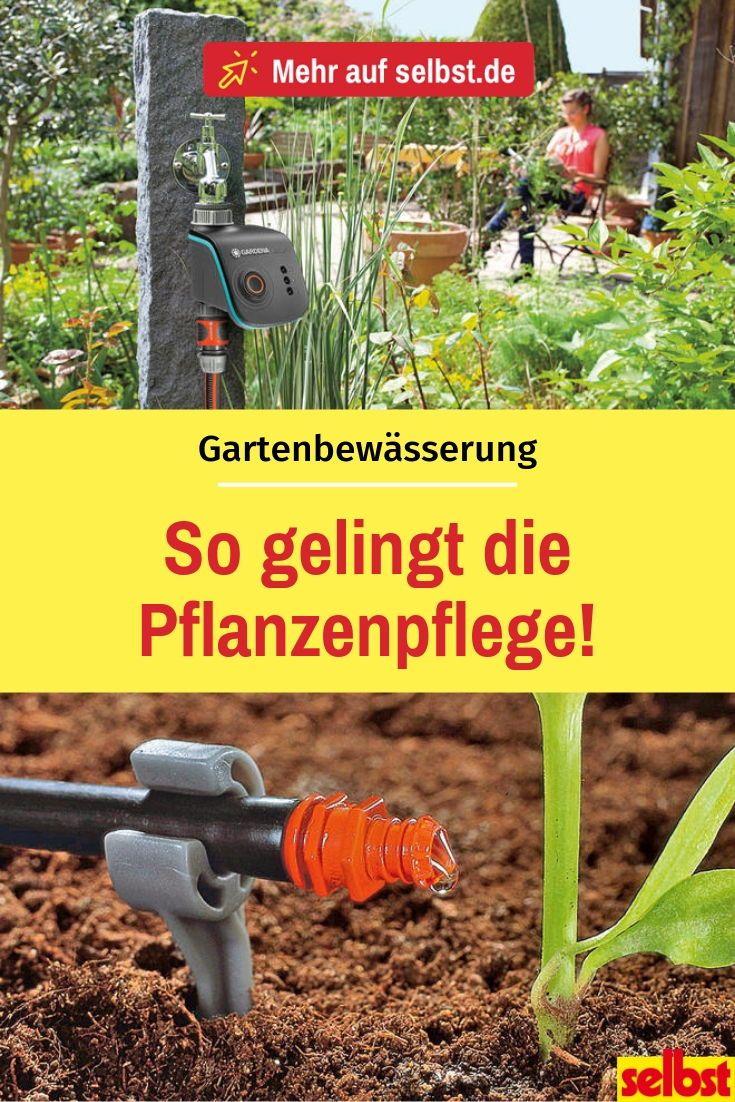 Bew舖serungssystem Garten Selber Bauen