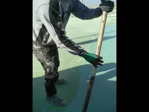 strength layer construction of SPU sports flooring